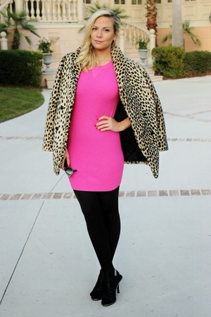 sweater Torn by Ronny Kobo dress - leopard print asos coat