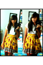 Forever21 skirt - Banna Republic shirt