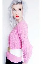 pink Vintage at Baby Says Boutique sweater