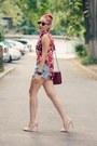 Romwe-shirt-choies-bag-diesel-shorts-ray-ban-sunglasses