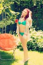 Choies cardigan - romwe swimwear