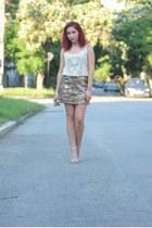 Choies top - Choies skirt