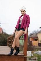 Choies boots - Choies shorts