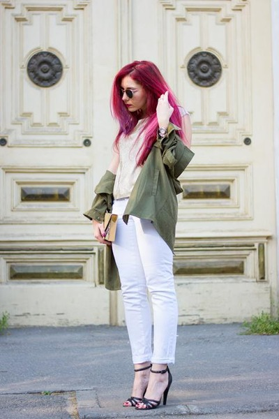 Mango jeans - Choies jacket - Hindsight sunglasses