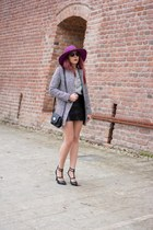 Sheinsidecom coat - Choies heels