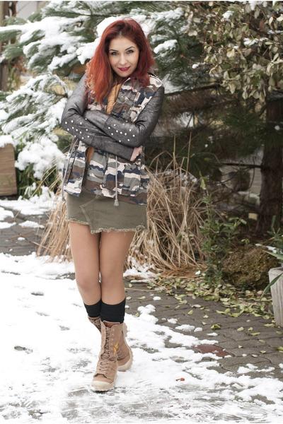 no angels skirt - BAD style jacket - romwe bag