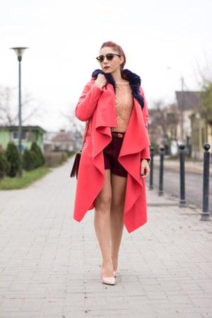 Choies bag - Choies shorts - Ray Ban sunglasses