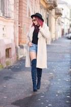 Jessica Buurman boots - Choies hat - Choies bag - Ray Ban sunglasses