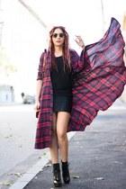 Jessica Buurman boots - Choies bag - Sheinside cardigan
