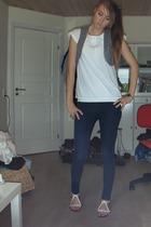 pieces vest - Only shirt - pieces jeans - Lise Lindvig shoes
