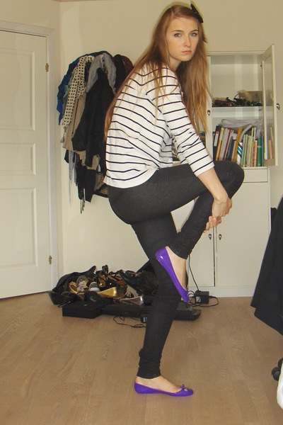 Zara shirt - Vila jeans - DIY accessories - karizma shoes