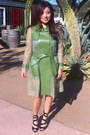 Green-valentino-coat-black-sandals
