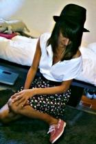 Sfera hat - Sfera t-shirt - Sfera belt - H&M skirt - Zara shoes