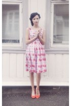 bubble gum retro My Cup of Tea Vintage dress - orange kitten XIT shoes