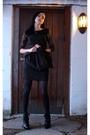 Black-lace-dress-black-dress-black-tights-black-shoes-silver-bracelet-