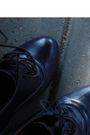 Blue-cubus-dress-brown-cavalet-bag-blue-via-nellycom-shoes-brown-vintage-b
