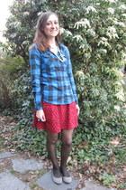 Forever 21 shirt - Forever 21 skirt - joyce leslie flats