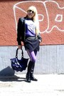 Black-diffuse-skirt