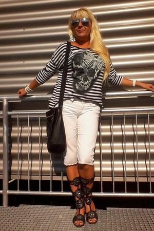 Marks&Spencer jeans - Borelli bag - George blouse