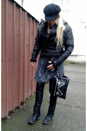 black black chic bag Atmosphere bag