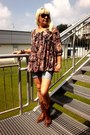 Sancho-boots-amisu-shorts-atmosphere-blouse