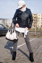 East Village jacket - River Island bag - H&M pants