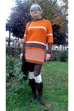 orange Gossip dress