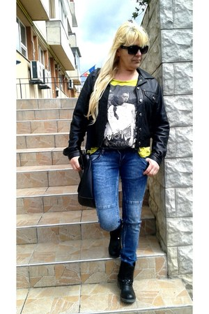 navy costbart jeans