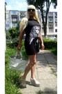 Black-zara-dress