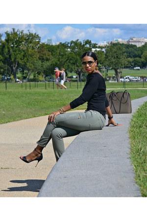 v back vintage Givenchy sweater - cargo Work Custom jeans