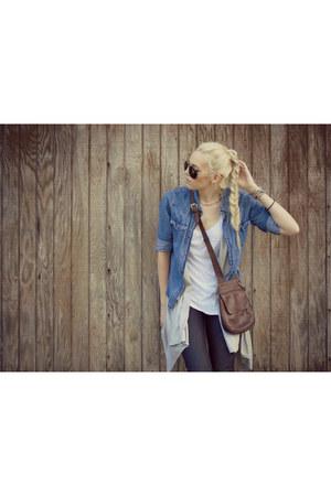 dark brown travelsmith purse - dark brown tahiri leather Jessica Simpson boots