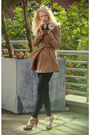 Brown-h-m-coat-brown-unknown-brand-shoes