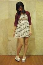 dress - vest - Tracce shoes