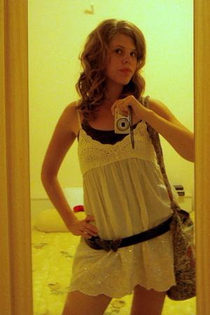 belt - dress - accessories - top