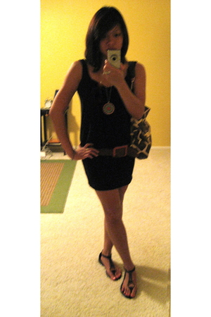 Express dress - Gap shoes - banana republic belt - Dooney & Bourke purse - Forev