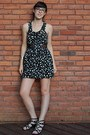 Black-heart-print-forever-21-dress-black-bcbgeneration-wedges