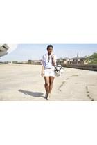 Aldo heels - Aldo bag - joe fresh style shorts - joe fresh style blouse