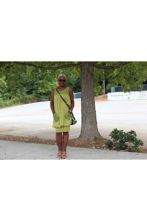 chartreuse Beyond the Rack dress