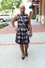 Black-marshalls-dress-hsn-bag-macys-heels