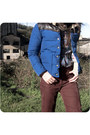 Blue-penfield-jacket-maroon-sessun-pants