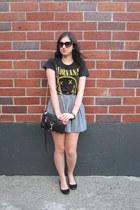 Nine West sunglasses - Forever 21 shirt - Rebecca Minkoff bag