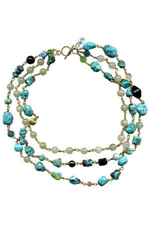 blue BelleStyle necklace
