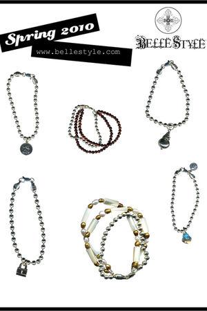 silver BelleStyle bracelet - silver BelleStyle bracelet - silver BelleStyle brac