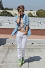 Lime-green-jefferey-campbell-boots-white-zara-jeans