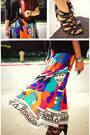 Vintage-skirt-forever21-shirt-target-heels