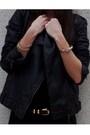 Black-zara-dress-black-maje-jacket-red-deena-ozzy-shoes