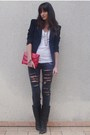 Black-diy-jeans-white-aa-t-shirt-black-zara-blazer-red-marc-by-marc-jacobs