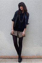 shorts - sweater - jacket - shoes
