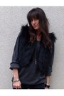 Black-jimmy-choo-x-h-m-vest-gray-new-look-sweater-black-vintage-boots-blac