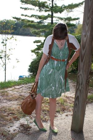 sams club dress - delias sweater - UO shoes - simply vera wang purse - UO belt -